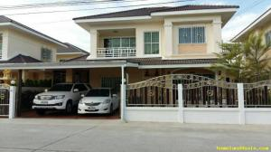 บ้านเดี่ยว 6,500,000 ชลบุรี เมืองชลบุรี หนองไม้แดง