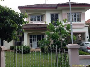 บ้านเดี่ยวสองชั้น 6900000 ปทุมธานี ธัญบุรี ประชาธิปัตย์