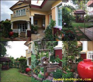 บ้านเดี่ยว 9500000 นนทบุรี บางกรวย ปลายบาง