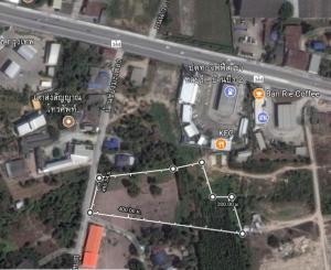 ที่ดิน 6,000,000 บาท /ไร่ ชลบุรี เมืองชลบุรี หนองรี