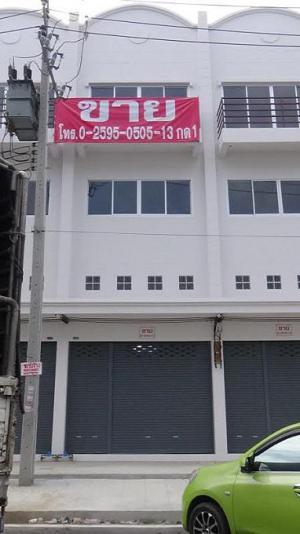 """อาคารพาณิชย์ ขายอาคารพาณิชย์ (ทำเลทอง) """"ในบางใหญ่ซิตี้"""" จ.นนทบุรี   รายละ นนทบุรี บางใหญ่ เสาธงหิน"""