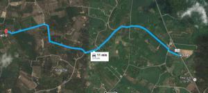 ที่ดิน 2150000 จันทบุรี กิ่งอำเภอเขาคิชฌกูฏ ตะเคียนทอง