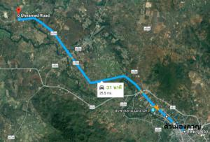 ที่ดิน 2000000 กาญจนบุรี เมืองกาญจนบุรี วังด้ง