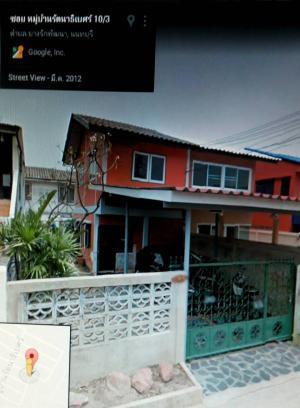 บ้านแฝดสองชั้น 2090000 นนทบุรี บางบัวทอง บางรักพัฒนา