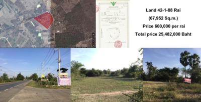 ที่ดิน 600000 กาญจนบุรี บ่อพลอย หนองกุ่ม