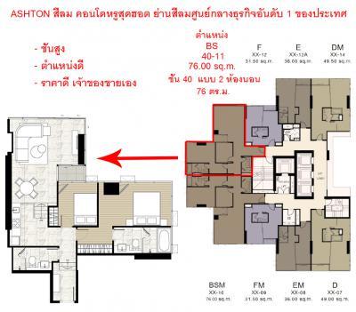 คอนโด 22477000 กรุงเทพมหานคร เขตบางรัก สุริยวงศ์