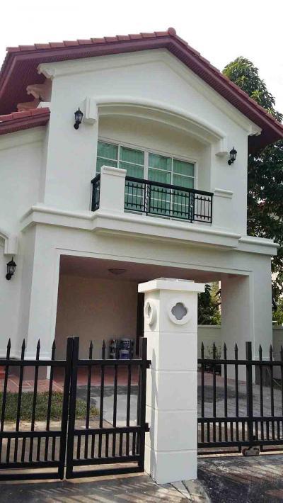 บ้านเดี่ยวสองชั้น 16000000 นนทบุรี ปากเกร็ด บางตลาด