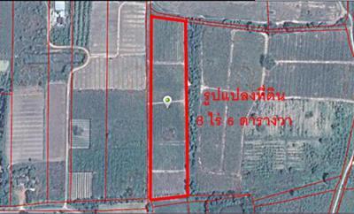 ที่ดิน 450000 เพชรบุรี ชะอำ ไร่ใหม่พัฒนา