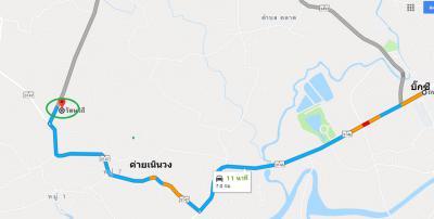 ที่ดิน 1350000 จันทบุรี เมืองจันทบุรี บางกะจะ