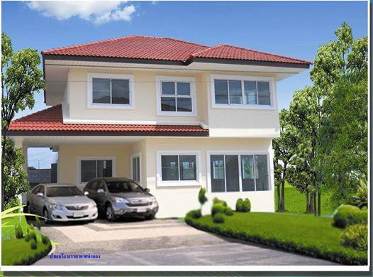 บ้านเดี่ยวสองชั้น 2790000 นนทบุรี ไทรน้อย ไทรน้อย