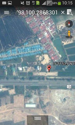ที่ดิน 750000 พิษณุโลก เมืองพิษณุโลก หัวรอ