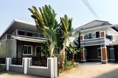 บ้านแฝดสองชั้น 4250000 เชียงใหม่ สันทราย ป่าไผ่
