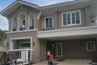 บ้านเดี่ยวสองชั้น 11600000 กรุงเทพมหานคร เขตประเวศ ดอกไม้