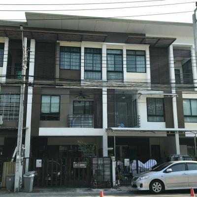 ทาวน์เฮาส์ 4880000 กรุงเทพมหานคร เขตหลักสี่ ตลาดบางเขน