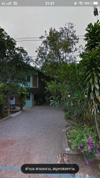 บ้านพร้อมที่ดิน 3500000 สมุทรสงคราม อัมพวา สวนหลวง