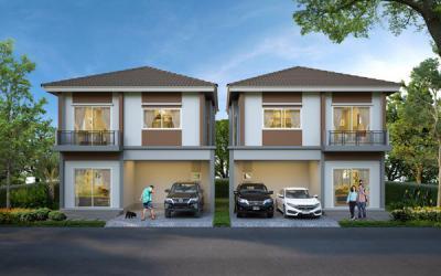 บ้านแฝดสองชั้น 5720000 กรุงเทพมหานคร เขตประเวศ ประเวศ