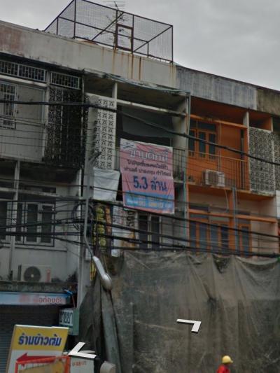 ตึกแถว 5300000 กรุงเทพมหานคร เขตบางกอกน้อย บ้านช่างหล่อ