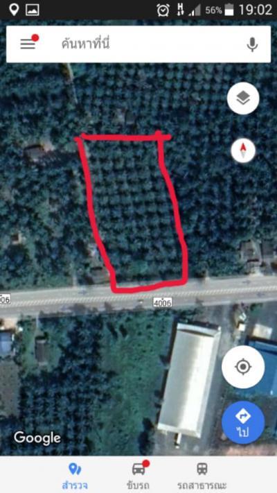 ที่ดิน 12750000 ชุมพร หลังสวน วังตะกอ