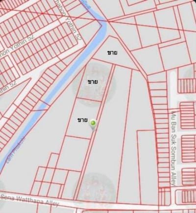 ที่ดิน 50000 กรุงเทพมหานคร เขตสายไหม คลองถนน