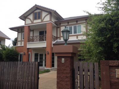 บ้านเดี่ยว 14500000 นนทบุรี ปากเกร็ด อ้อมเกร็ด