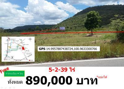 ที่ดิน 890000 ลพบุรี พัฒนานิคม โคกสลุง