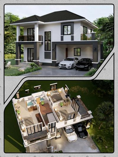 บ้านเดี่ยว 2150000 จันทบุรี เมืองจันทบุรี บางกะจะ