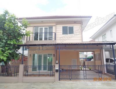บ้านเดี่ยวสองชั้น 3450000 นนทบุรี ปากเกร็ด ท่าอิฐ