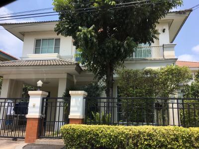 บ้านเดี่ยวสองชั้น 4500000 นนทบุรี เมืองนนทบุรี บางกร่าง