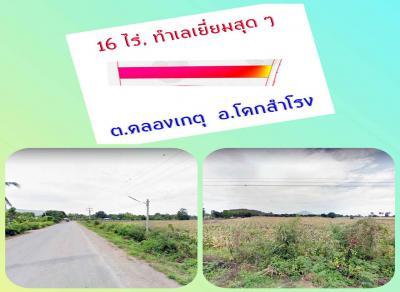 ที่ดิน 150000 ลพบุรี โคกสำโรง คลองเกตุ