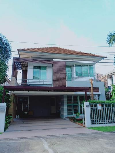 บ้านเดี่ยว 7900000 นนทบุรี บางใหญ่ บางเลน