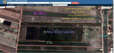 ที่ดิน 105000000 นนทบุรี ไทรน้อย ไทรใหญ่