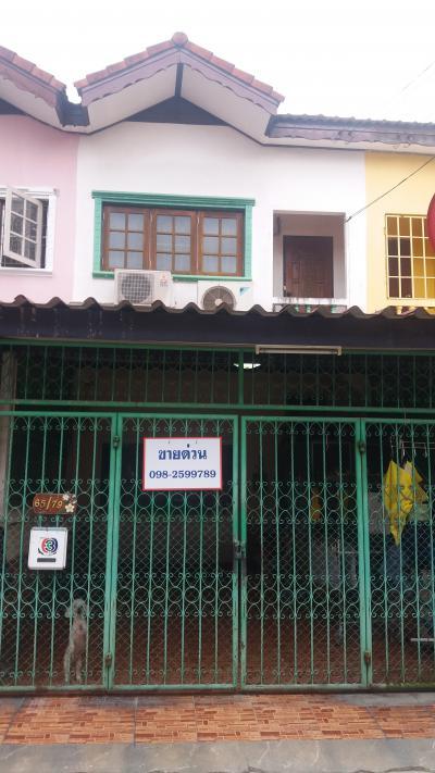 ทาวน์เฮาส์ 1800000 กรุงเทพมหานคร เขตทวีวัฒนา ศาลาธรรมสพน์