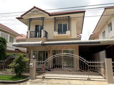 บ้านเดี่ยว 3990000 นนทบุรี เมืองนนทบุรี บางรักน้อย