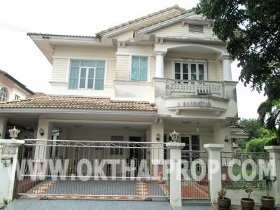 บ้านเดี่ยว 7200000 นนทบุรี บางใหญ่ เสาธงหิน