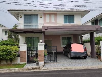 บ้านเดี่ยว 3200000 นนทบุรี บางใหญ่ บางเลน