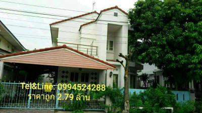 บ้านเดี่ยว 2790000 กรุงเทพมหานคร เขตมีนบุรี แสนแสบ