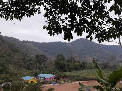 ที่ดิน 2500000 กาญจนบุรี ไทรโยค บ้องตี้