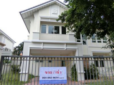 บ้านเดี่ยวสองชั้น 13500000 นนทบุรี เมืองนนทบุรี ไทรม้า