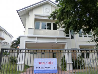 บ้านเดี่ยว 13500000 นนทบุรี เมืองนนทบุรี ไทรม้า