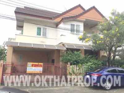 บ้านเดี่ยว 3500000 นนทบุรี ปากเกร็ด บางพลับ