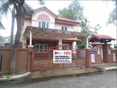 บ้านเดี่ยวสองชั้น 4970000 ปทุมธานี เมืองปทุมธานี บางคูวัด