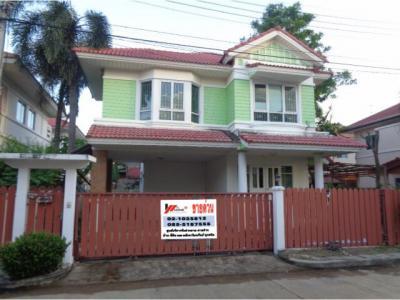 บ้านเดี่ยวสองชั้น 4110000 ปทุมธานี เมืองปทุมธานี บ้านกลาง