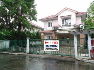 บ้านเดี่ยวสองชั้น 4380000 ปทุมธานี เมืองปทุมธานี บางคูวัด