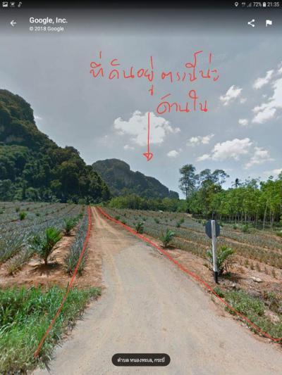 ไร่สวน 350000 กระบี่ เมืองกระบี่ หนองทะเล