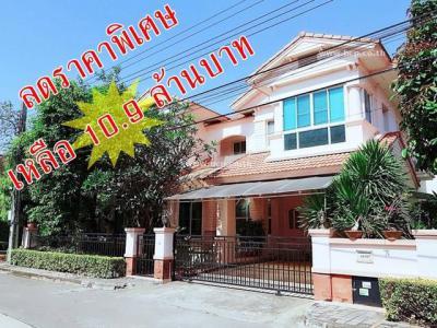บ้านเดี่ยว 10900000 กรุงเทพมหานคร เขตประเวศ ดอกไม้