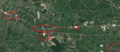 ที่ดิน 7373000 ราชบุรี บ้านโป่ง เขาขลุง