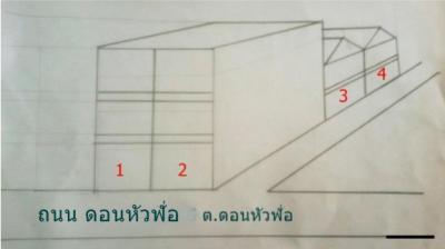 อาคารพาณิชย์ 0 ชลบุรี พานทอง บ้านเก่า