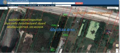 ที่ดิน 52887000 ปทุมธานี เมืองปทุมธานี บางเดื่อ