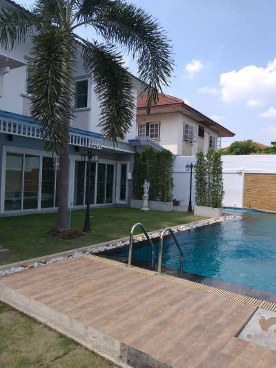 บ้านเดี่ยวสองชั้น 10500000 นนทบุรี บางใหญ่ เสาธงหิน