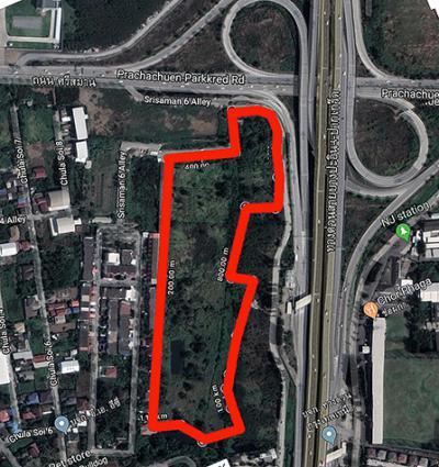 ที่ดิน 350000 นนทบุรี ปากเกร็ด บ้านใหม่